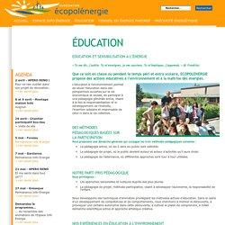 éducation | Ecopolénergie, Maîtriser l'énergie : l'enjeu d'avenir