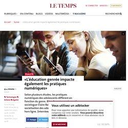 «L'éducation genrée impacte également les pratiques numériques»
