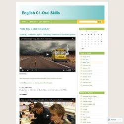 English C1-Oral Skills