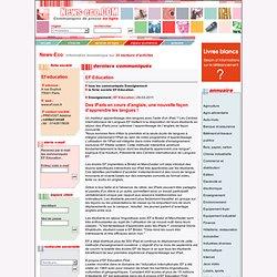 EF Education : Des iPads en cours d'anglais, une nouvelle façon d'apprendre les langues !