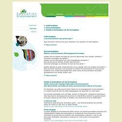 .: Education Environnement :.