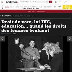 Droit de vote, loi IVG, éducation... quand les droits des femmes évoluent, Diaporamas