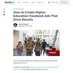 How to Create Higher Education Facebook Ads That Drive Results