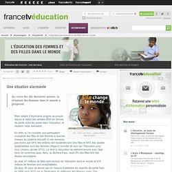 L'éducation des femmes et des filles dans le monde