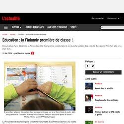 Éducation : la Finlande première de classe !