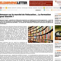 Amazon sur le marché de l'éducation… La formation pour bientôt ?