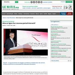 Education-formation : Mise en ligne d'un nouveau portail interactif