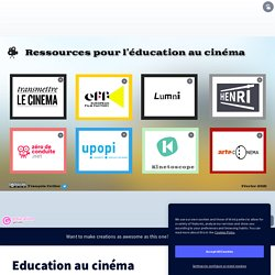 Education au cinéma by François Cellier on Genially