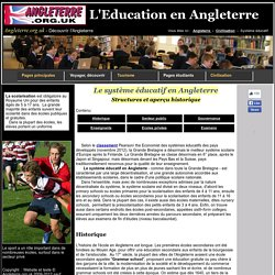 Education en Grande Bretagne
