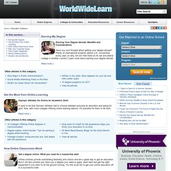 The Best Education Technology Blogs | Campus & Online Degree Programs | WorldWideLearn.com