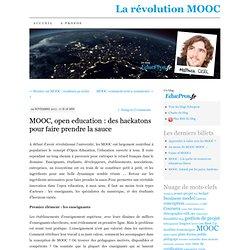 MOOC, open education : des hackatons pour faire prendre la sauce