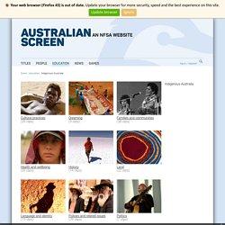 education - Indigenous Australia on ASO