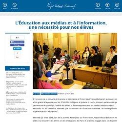 L'Éducation aux médias et à l'information, une nécessité pour nos élèves