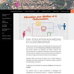 EMI: Éducation aux Médias et à l'Information