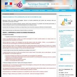 Protection des données, responsabilisation de la publication: des séances par le groupe Numérique Éducatif 58