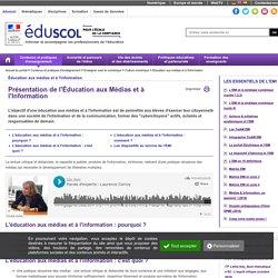 Éducation aux médias et à l'information - Éducation aux médias et à l'information