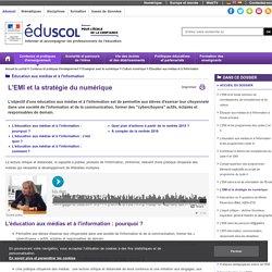 EMI (Éducation aux médias et à l'information) - Eduscol