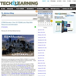 - STEM Education: Over 25 STEAM Links Filled With Resources and Information