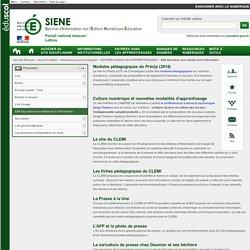 EMI éducation aux médias et à l'information - Lettres - éduscol SIENE