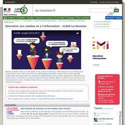 Éducation aux médias et à l'information - CLEMI Réunion