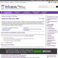 Éducation aux médias et à l'information - Supports vidéo pour l'EMI