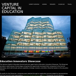 Education Innovators Showcase