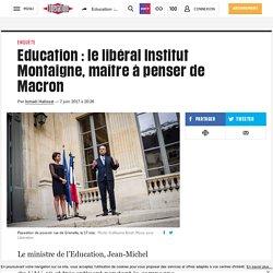 Education: le libéral Institut Montaigne, maître à penser de Macron