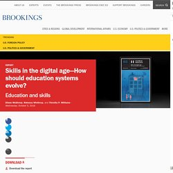 Skills in the digital age—How should education systems evolve?