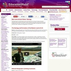 Videos - Geology