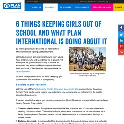 Girls' education - Plan International Canada