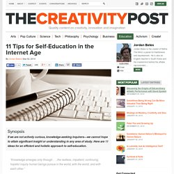 11 Tips for Self-Education in the Internet Age