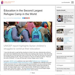 Education in the Second Largest Refugee Camp in the World