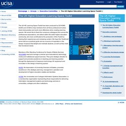 UCISA The UK Higher Education Learning Space Toolkit