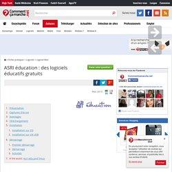 ASRI éducation : des logiciels éducatifs gratuits