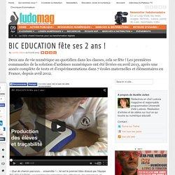 BIC EDUCATION fête ses 2 ans !