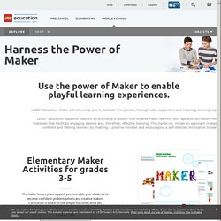 LEGO Education, Maker Space, products,