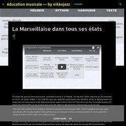 éducation musicale — by nikkojazz: La Marseillaise dans tous ses états