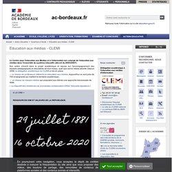Le site académique du CLEMI