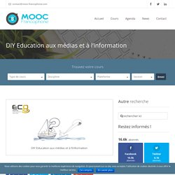 DIY Education aux médias et à l'information
