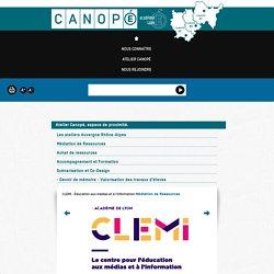 CLEMI - Éducation aux médias et à l'information - Canopé de Lyon