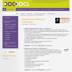 Education aux médias et à l'information - Doc pour docs
