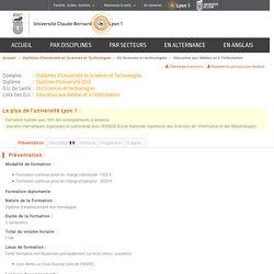 DU - Education aux Médias et à l'Information