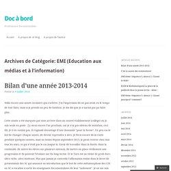 EMI (Education aux médias et à l'information)