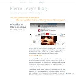 Education et médias sociaux
