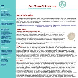 Zen Home Education: Music Education, Music Maitri, Musical Instruments, Singing, Dancing
