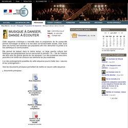 Éducation Musicale Rouen - Musique à danser, danse à écouter