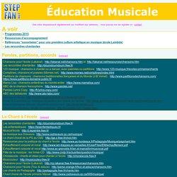 éducation musicale, musique, chant à l