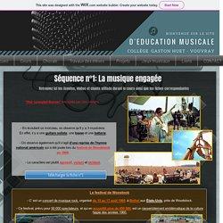 Musique au collège - Education musicale M.BARON
