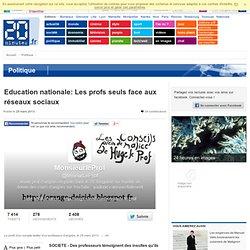 Education nationale: Les profs seuls face aux réseaux sociaux