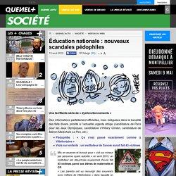 Éducation nationale : nouveaux scandales pédophiles